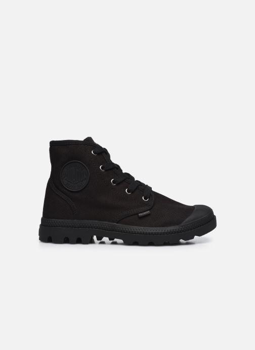 Sneakers Palladium Pampa hi w Zwart achterkant
