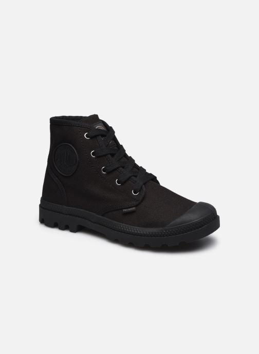 Sneakers Palladium Pampa hi w Zwart detail