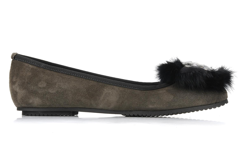 Ballerines Tosca Blu Shoes Vasta Gris vue derrière