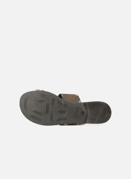 Sandales et nu-pieds Eden Tanza Vert vue haut