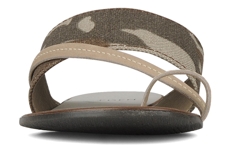 Sandals Eden Tanza Green model view