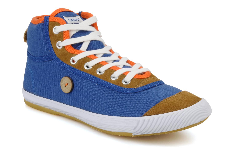 Faguo Teak w (Bleu) - Baskets en Más cómodo Chaussures femme pas cher homme et femme