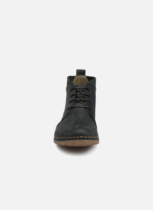 Zapatos con cordones El Naturalista Angkor N974 Negro vista del modelo