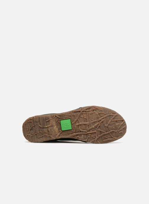 Lace-up shoes El Naturalista Angkor no974 Black view from above