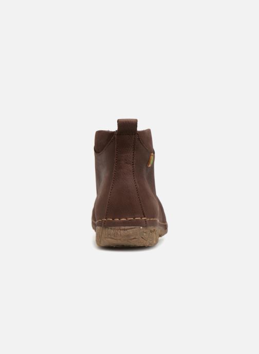 Lace-up shoes El Naturalista Angkor no974 Brown view from the right
