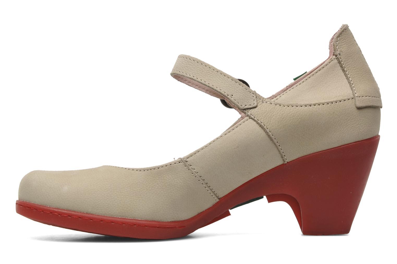 High heels El Naturalista Solar no860 Beige front view