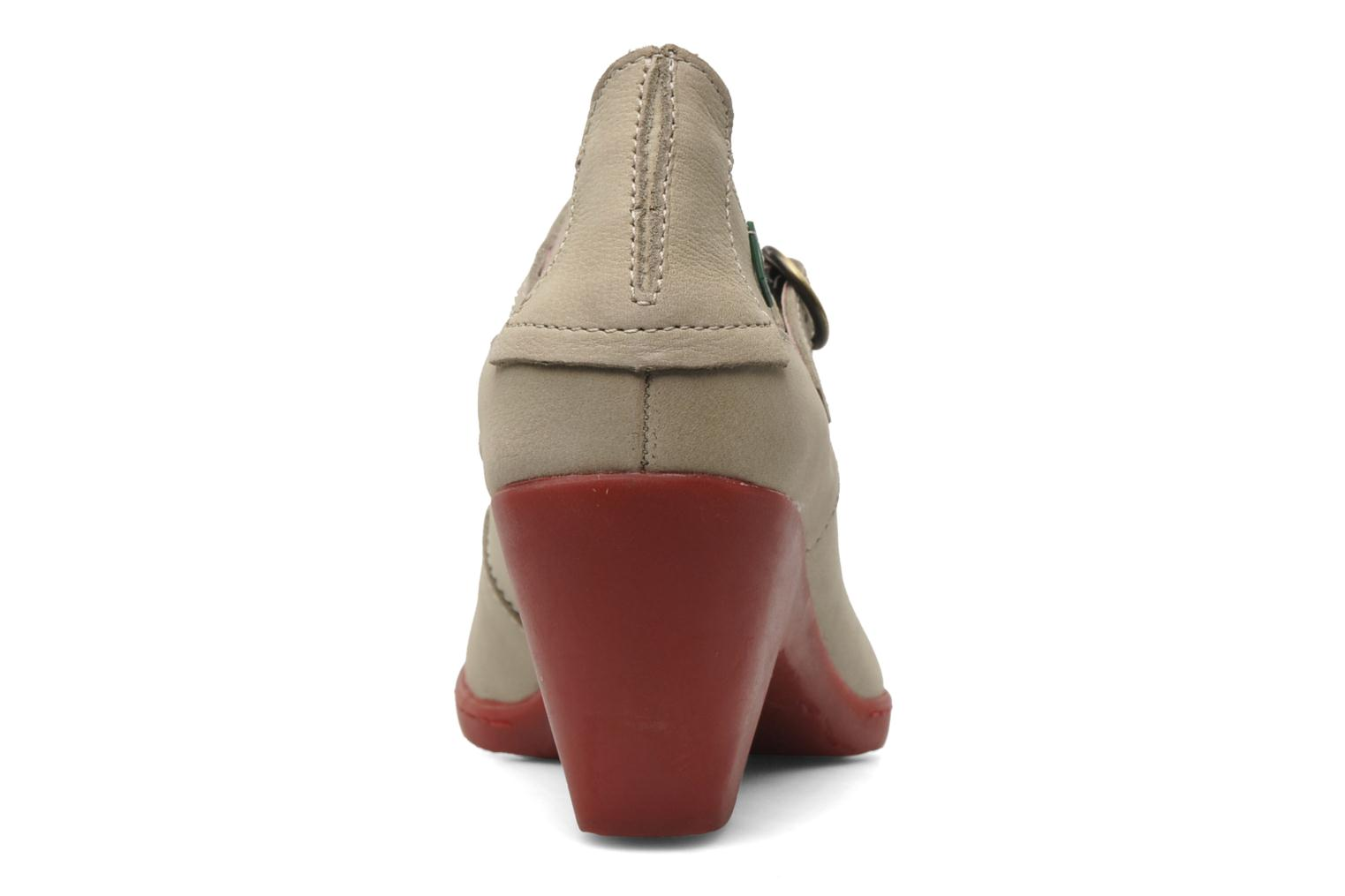 High heels El Naturalista Solar no860 Beige view from the right