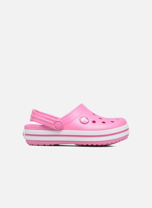 Sandals Crocs Crocband kids Pink back view