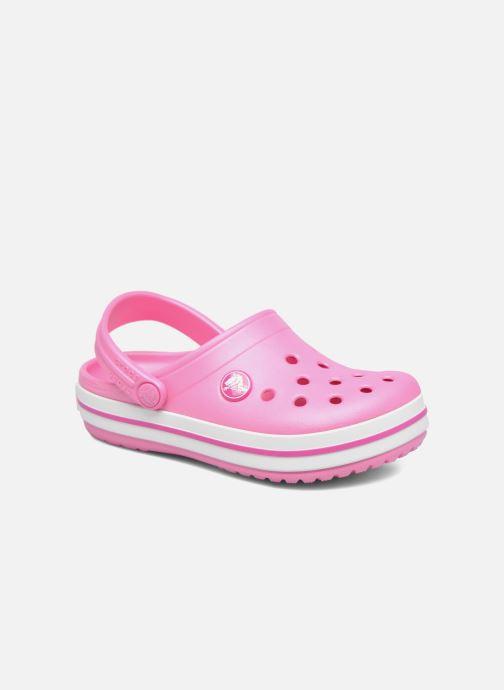 Sandalias Crocs Crocband kids Rosa vista de detalle / par