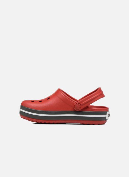 Sandals Crocs Crocband kids Red front view
