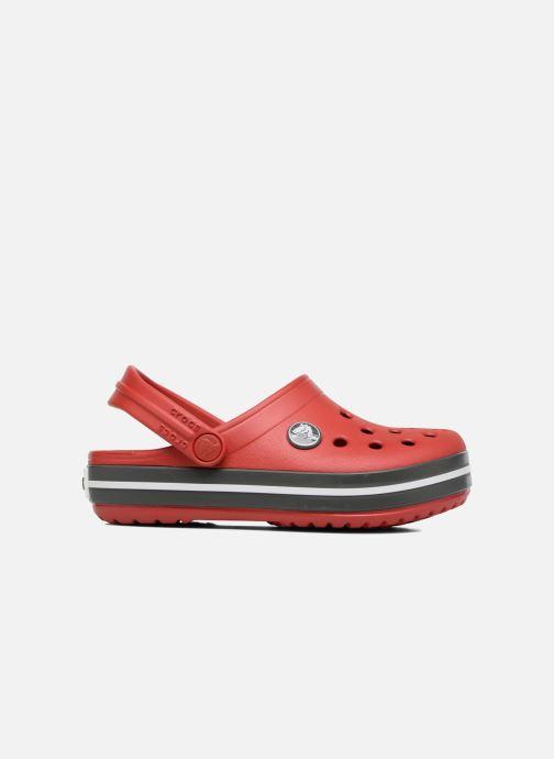 Sandalias Crocs Crocband kids Rojo vistra trasera