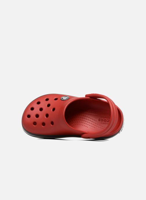 Sandalias Crocs Crocband kids Rojo vista lateral izquierda