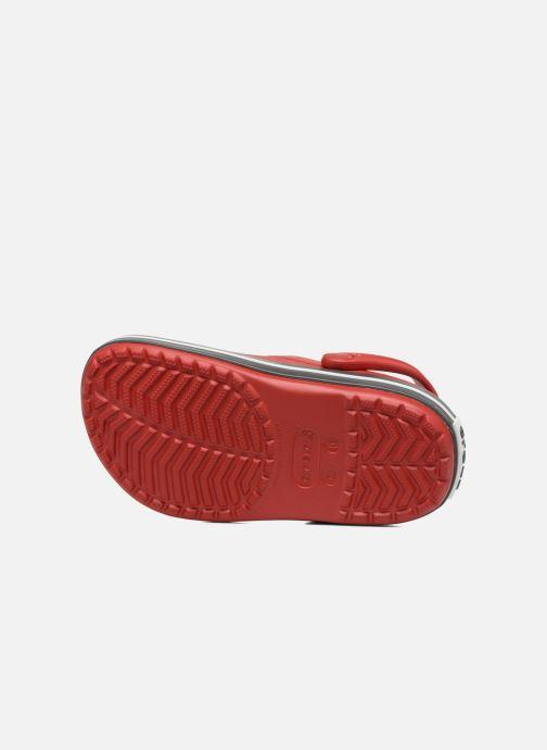 Sandales et nu-pieds Crocs Crocband kids Rouge vue haut