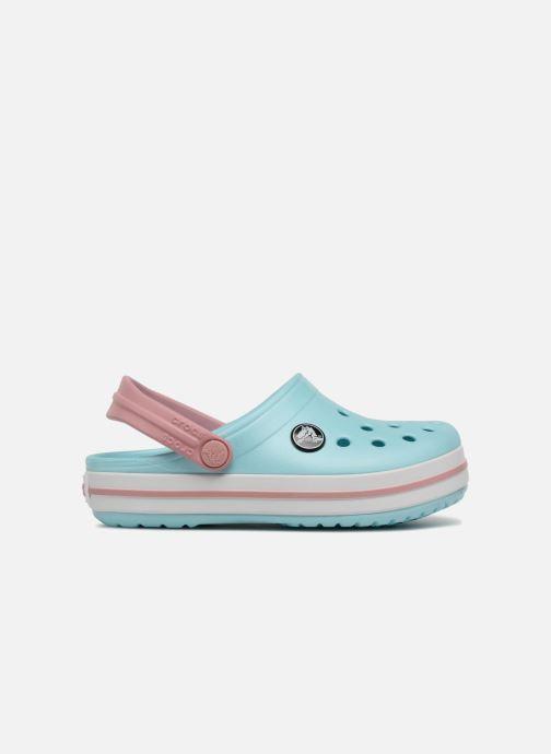 Sandales et nu-pieds Crocs Crocband kids Bleu vue derrière