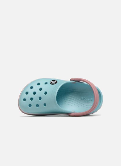 Sandali e scarpe aperte Crocs Crocband kids Azzurro immagine sinistra