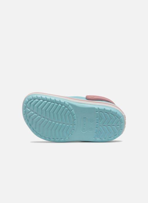 Sandalen Crocs Crocband kids blau ansicht von oben