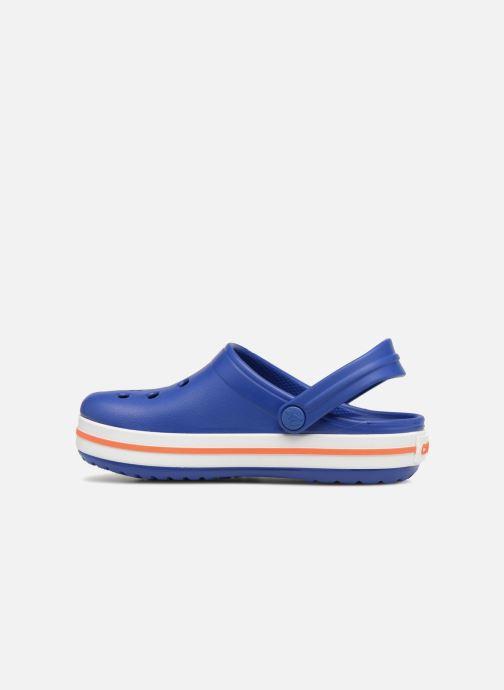 Sandals Crocs Crocband kids Blue front view
