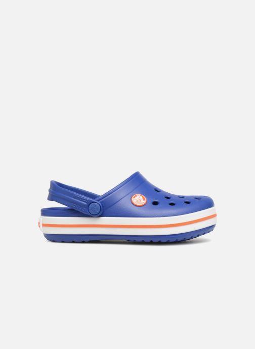 Sandals Crocs Crocband kids Blue back view