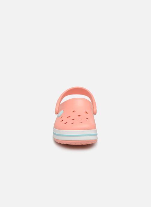 Sandales et nu-pieds Crocs Crocband kids Orange vue portées chaussures