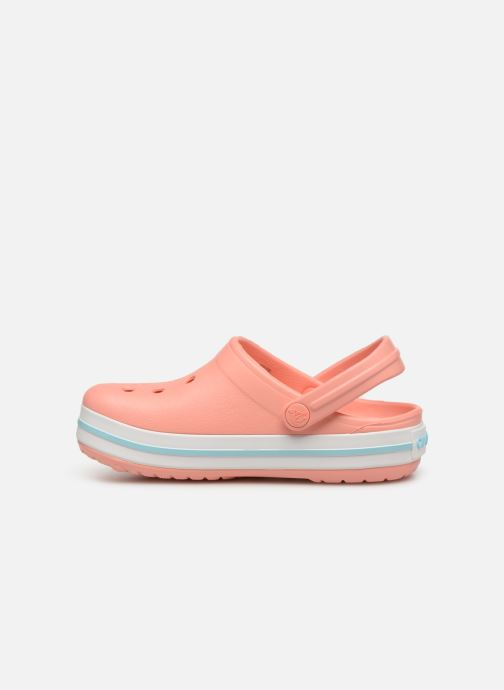 Sandales et nu-pieds Crocs Crocband kids Orange vue face