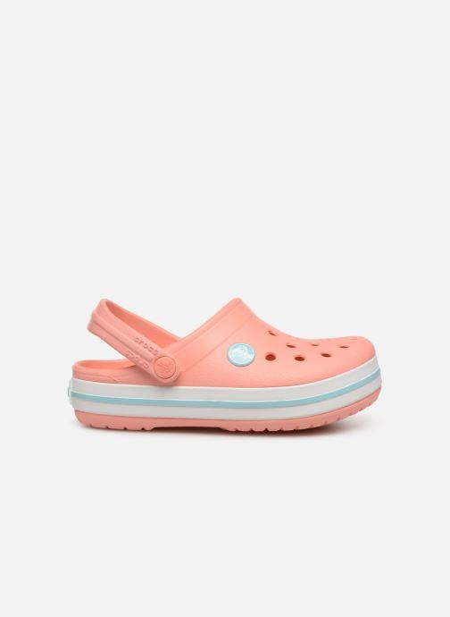 Sandales et nu-pieds Crocs Crocband kids Orange vue derrière