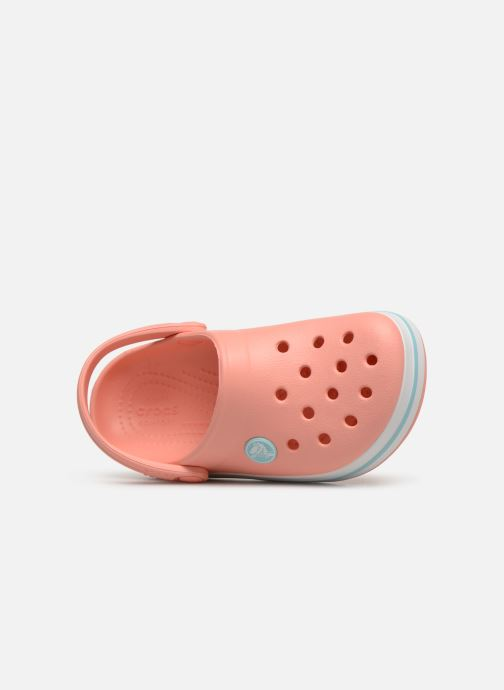 Sandales et nu-pieds Crocs Crocband kids Orange vue gauche