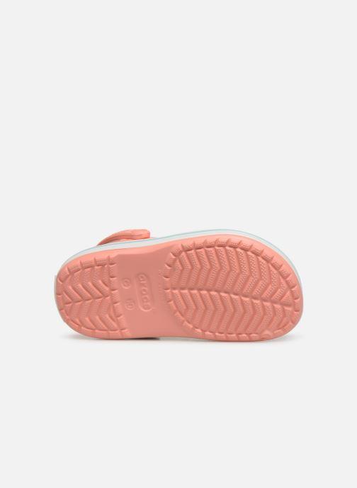 Sandales et nu-pieds Crocs Crocband kids Orange vue haut