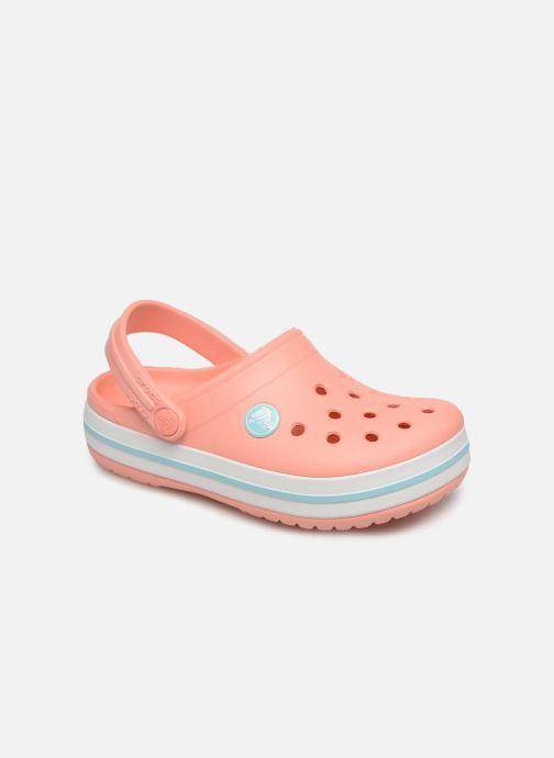 Sandales et nu-pieds Crocs Crocband kids Orange vue détail/paire