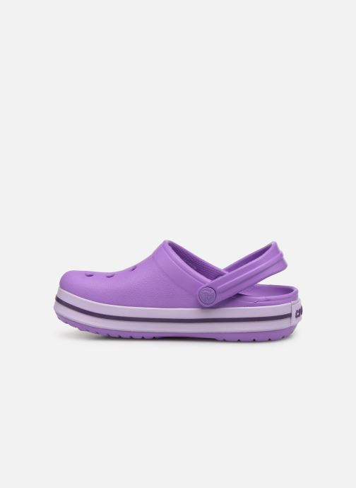 Sandales et nu-pieds Crocs Crocband kids Violet vue face