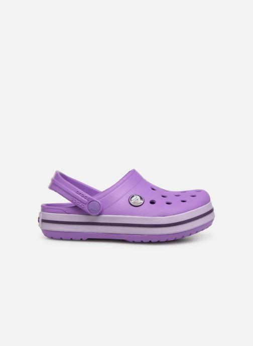 Sandales et nu-pieds Crocs Crocband kids Violet vue derrière