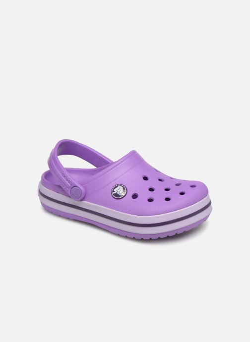 Sandales et nu-pieds Crocs Crocband kids Violet vue détail/paire
