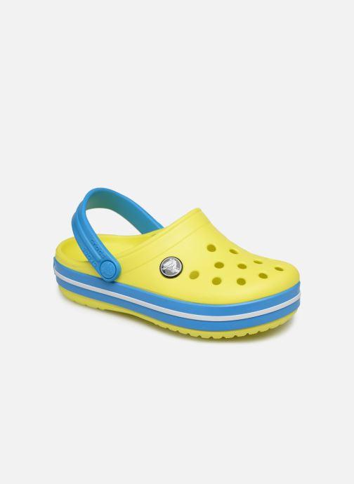 Sandalen Crocs Crocband kids gelb detaillierte ansicht/modell