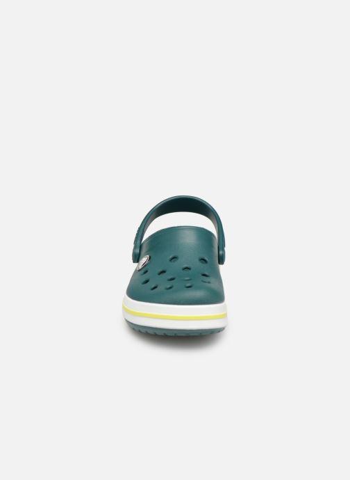 Sandali e scarpe aperte Crocs Crocband kids Verde modello indossato