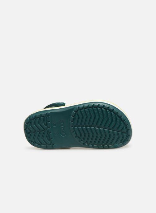 Sandali e scarpe aperte Crocs Crocband kids Verde immagine dall'alto