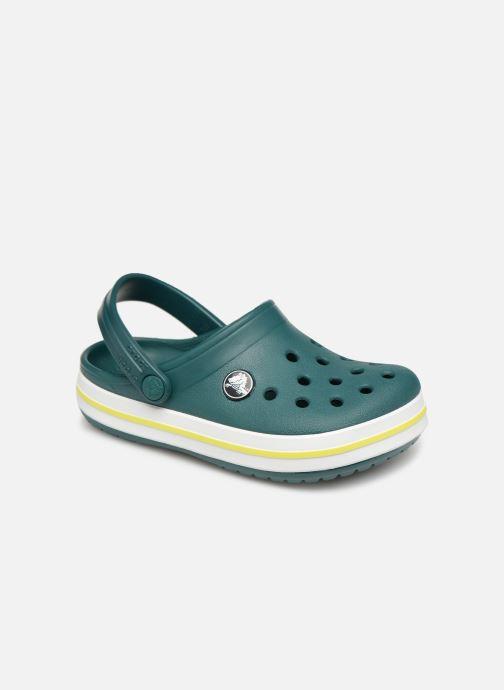 Sandales et nu-pieds Crocs Crocband kids Vert vue détail/paire