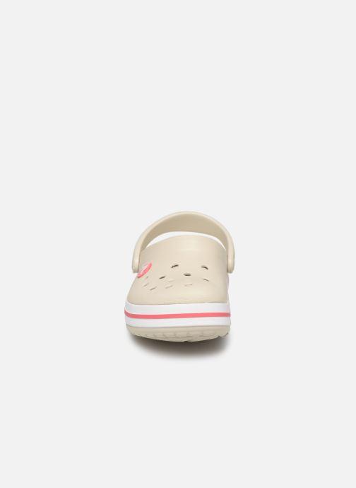 Sandali e scarpe aperte Crocs Crocband kids Beige modello indossato