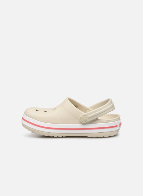 Sandali e scarpe aperte Crocs Crocband kids Beige immagine frontale
