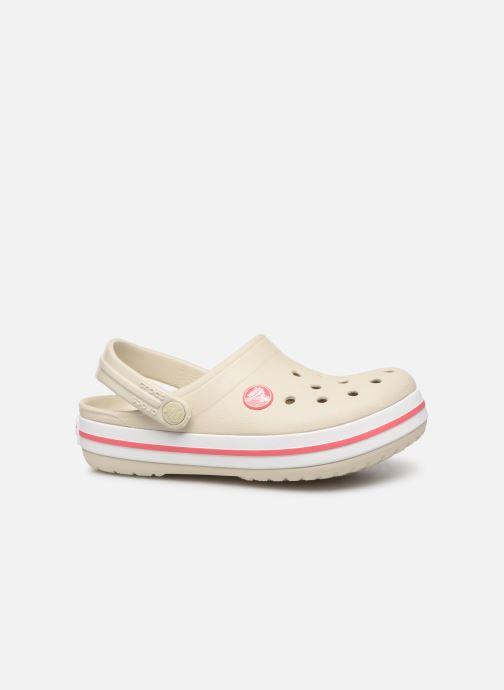 Sandali e scarpe aperte Crocs Crocband kids Beige immagine posteriore