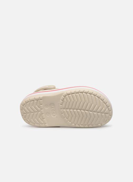 Sandali e scarpe aperte Crocs Crocband kids Beige immagine dall'alto