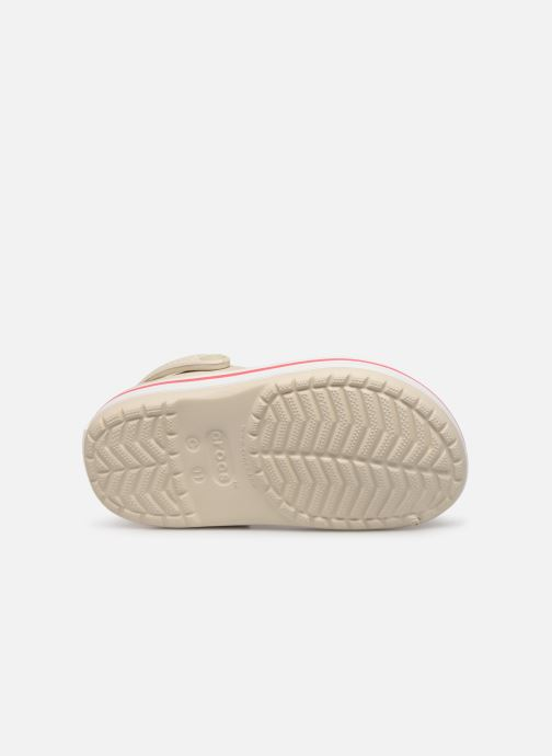 Sandaler Crocs Crocband kids Beige bild från ovan