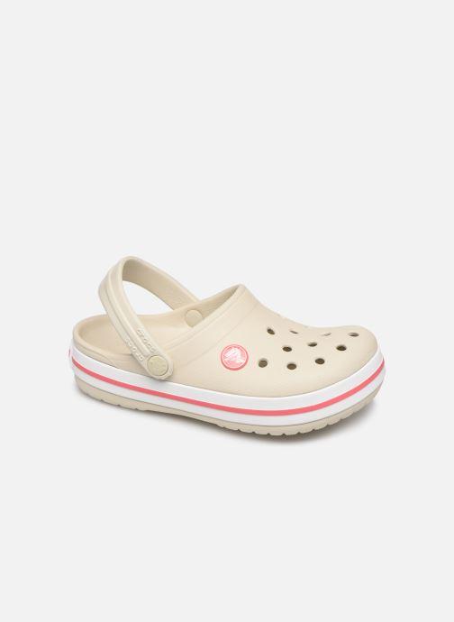 Sandaler Crocs Crocband kids Beige detaljerad bild på paret