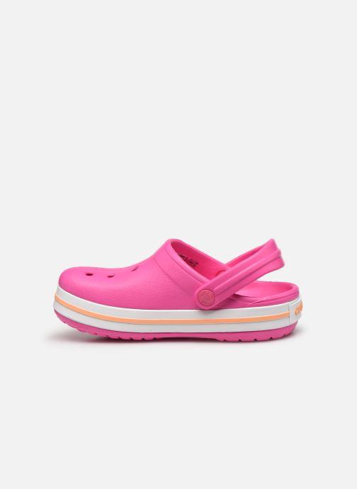 Sandales et nu-pieds Crocs Crocband kids Rose vue face