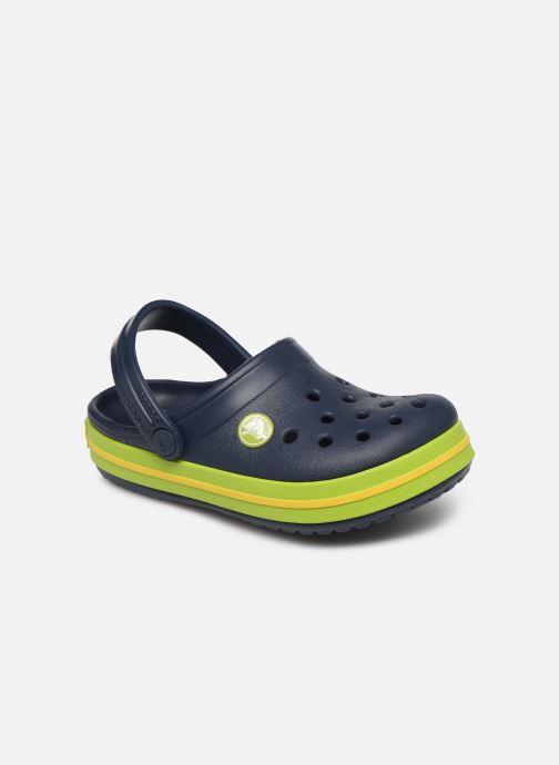 Sandalen Crocs Crocband kids blau detaillierte ansicht/modell