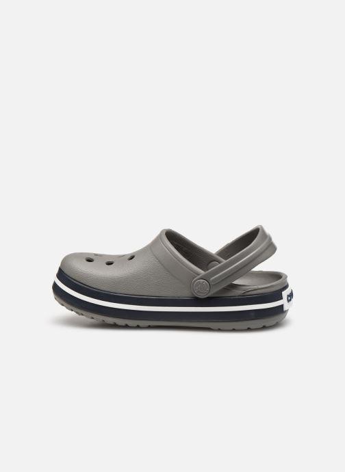 Sandalen Crocs Crocband kids grau ansicht von vorne