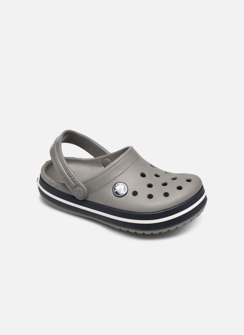 Sandales et nu-pieds Crocs Crocband kids Gris vue détail/paire