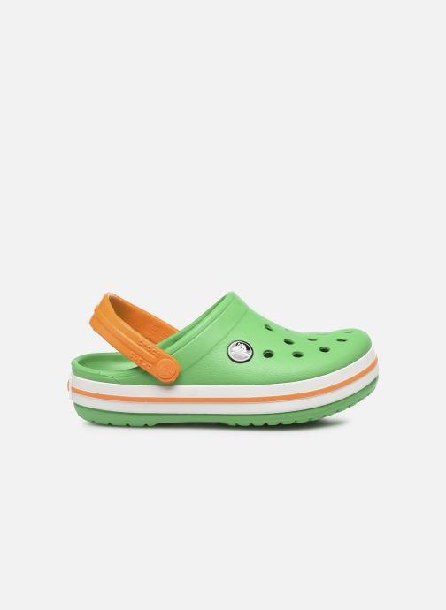 Sandales et nu-pieds Crocs Crocband kids Vert vue derrière