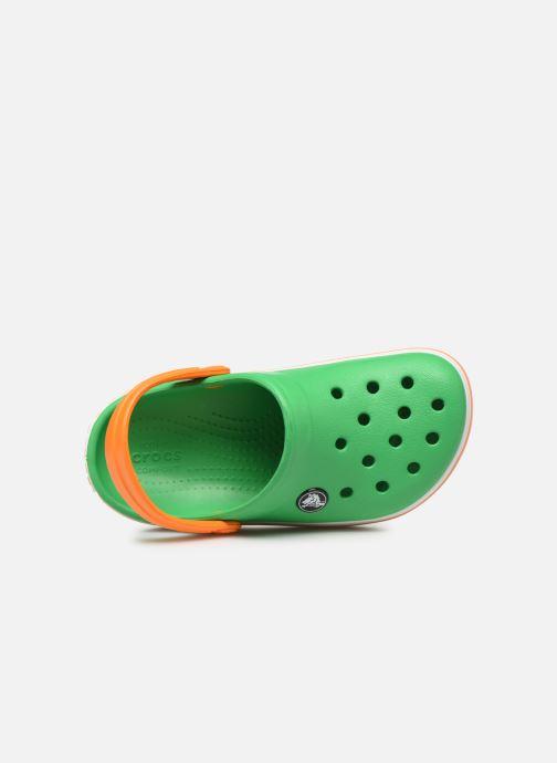 Sandales et nu-pieds Crocs Crocband kids Vert vue gauche
