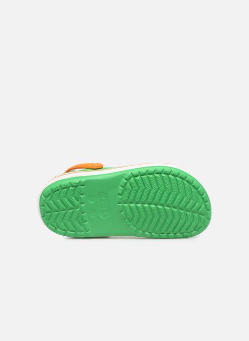 Sandales et nu-pieds Crocs Crocband kids Vert vue haut