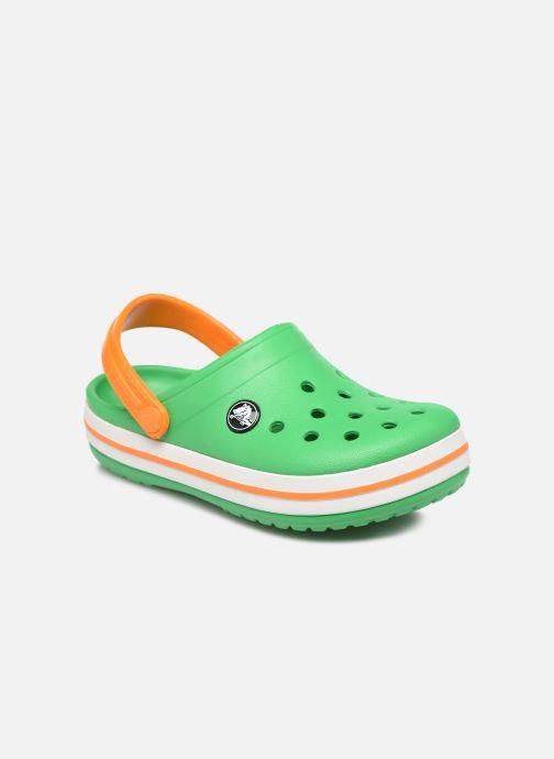 Sandalen Crocs Crocband Clog K grün detaillierte ansicht/modell