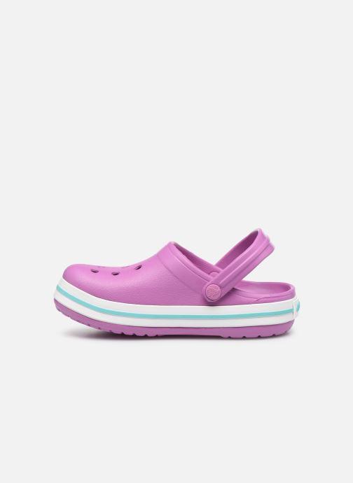 Sandalen Crocs Crocband kids lila ansicht von vorne